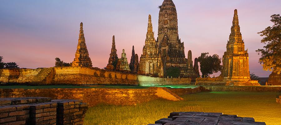 voyageurs en Thaïlande
